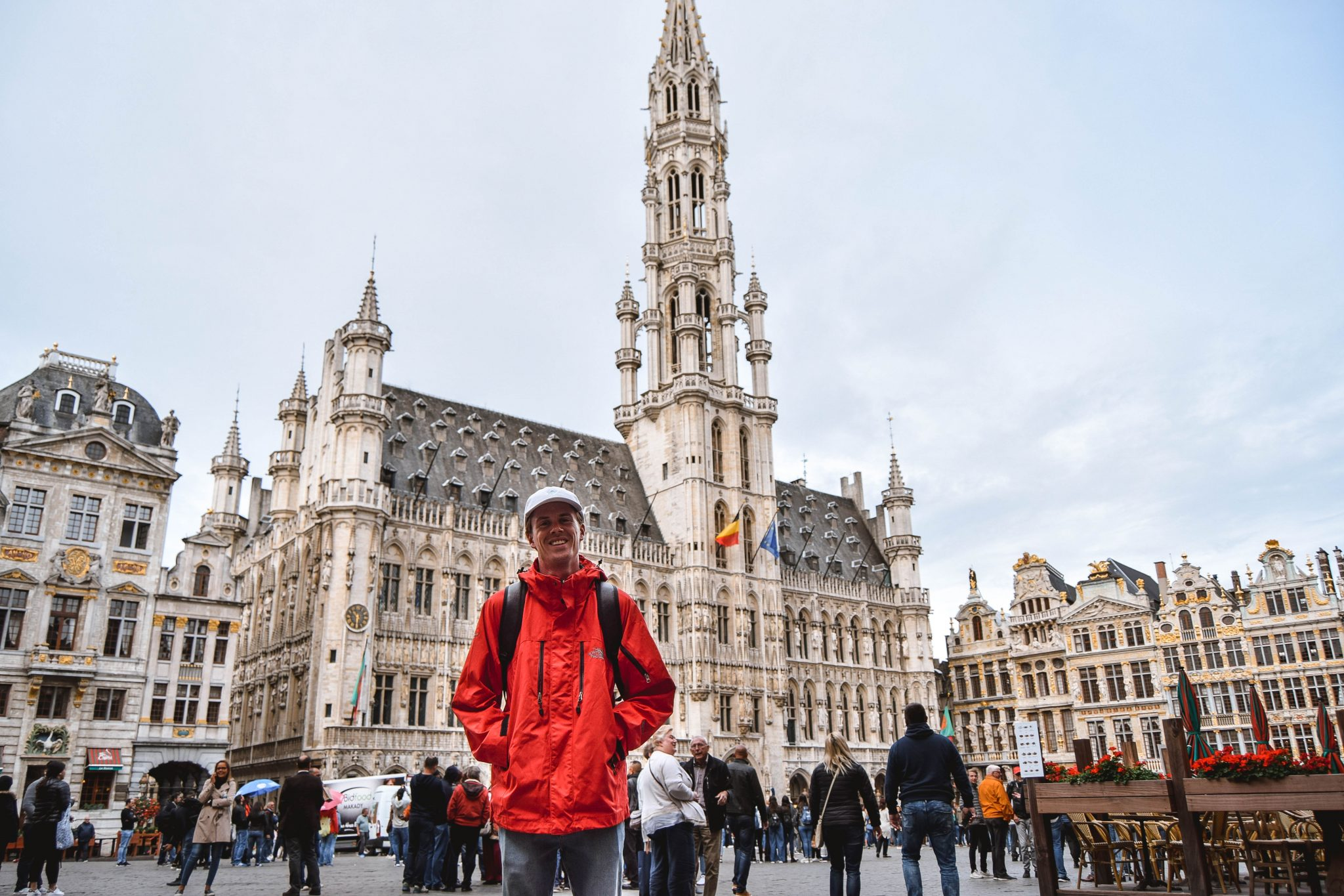 Wanderers & Warriors - Charlie & Lauren UK Travel Couple - Things To Do In Brussels In A Weekend - Grand Place Brussels Town Hall