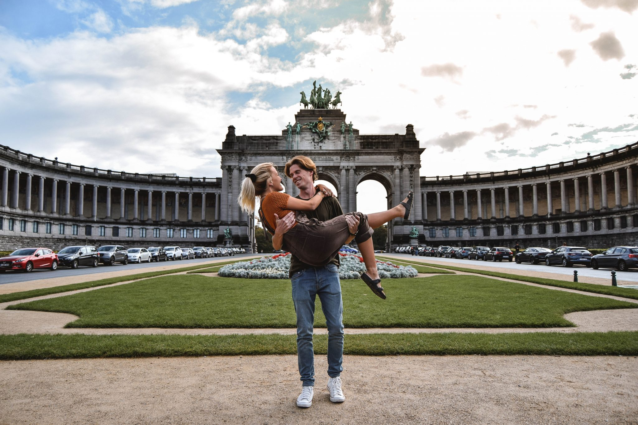 Wanderers & Warriors - Charlie & Lauren UK Travel Couple - Things To Do In Brussels In A Weekend - Parc du Cinquantenaire Brussels