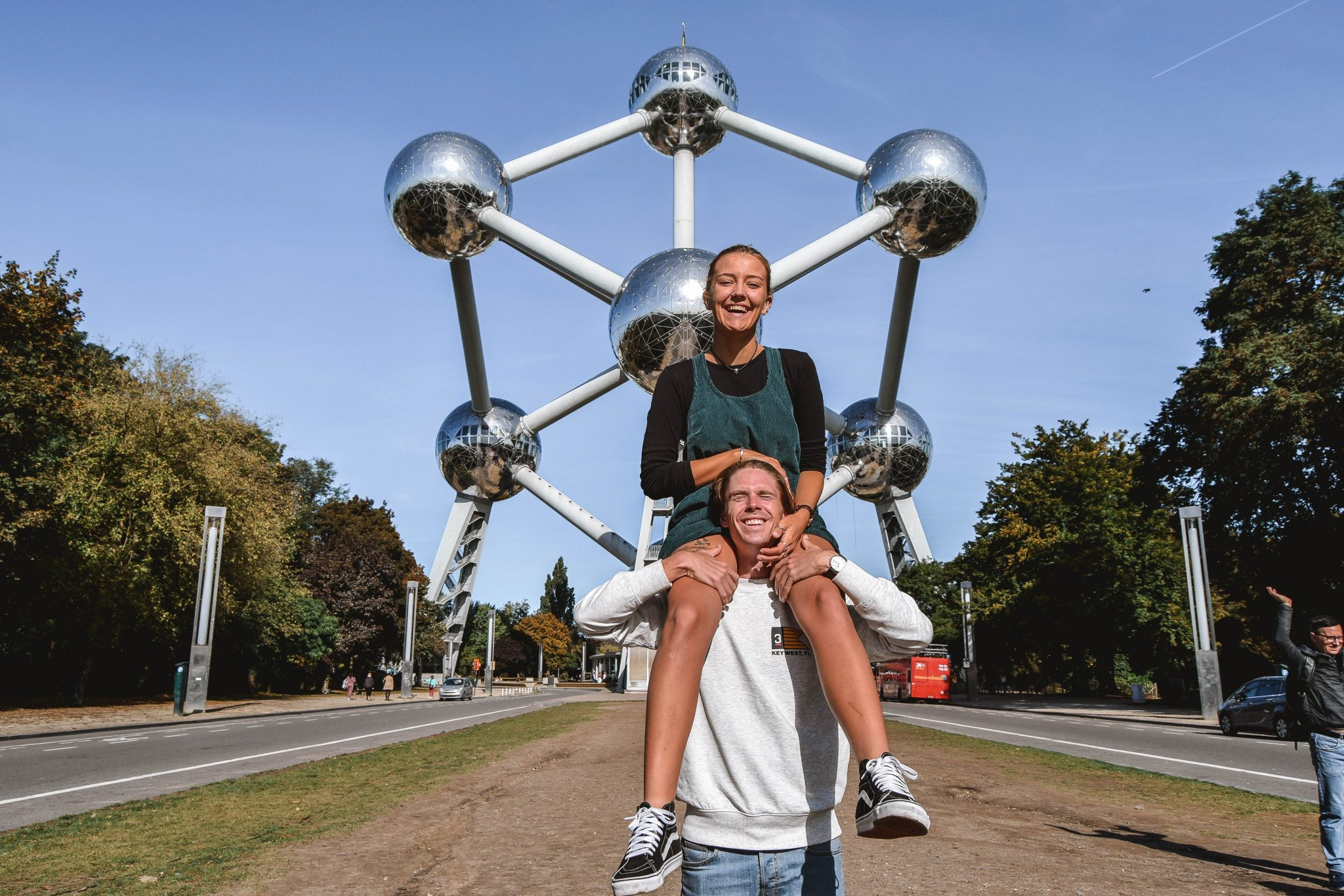 Wanderers & Warriors - Charlie & Lauren UK Travel Couple - Things To Do In Brussels In A Weekend - Atomium Brussels