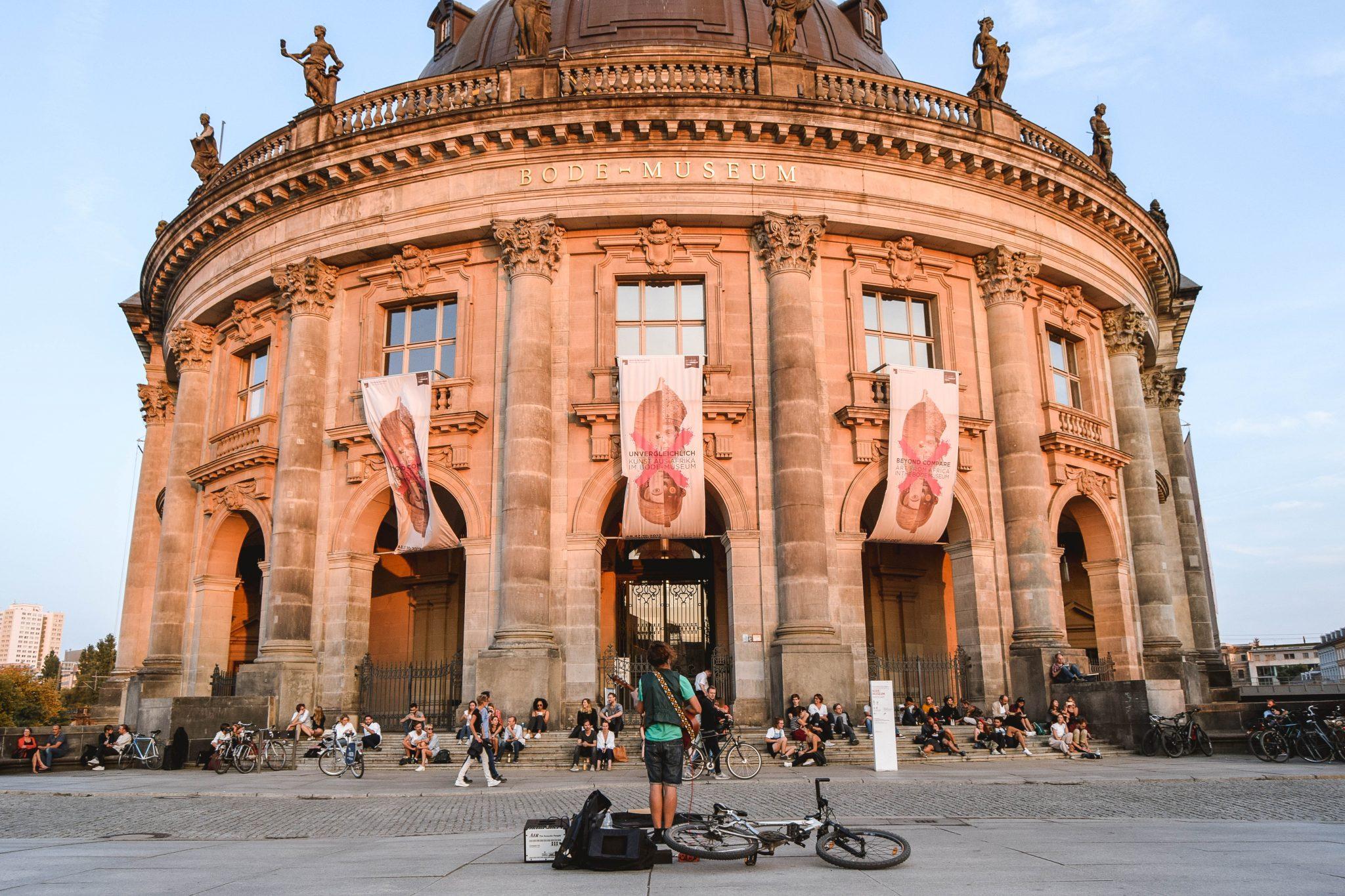 Wanderers & Warriors - Charlie & Lauren UK Travel Couple - Top Things To Do In Berlin Bode Museum Berlin