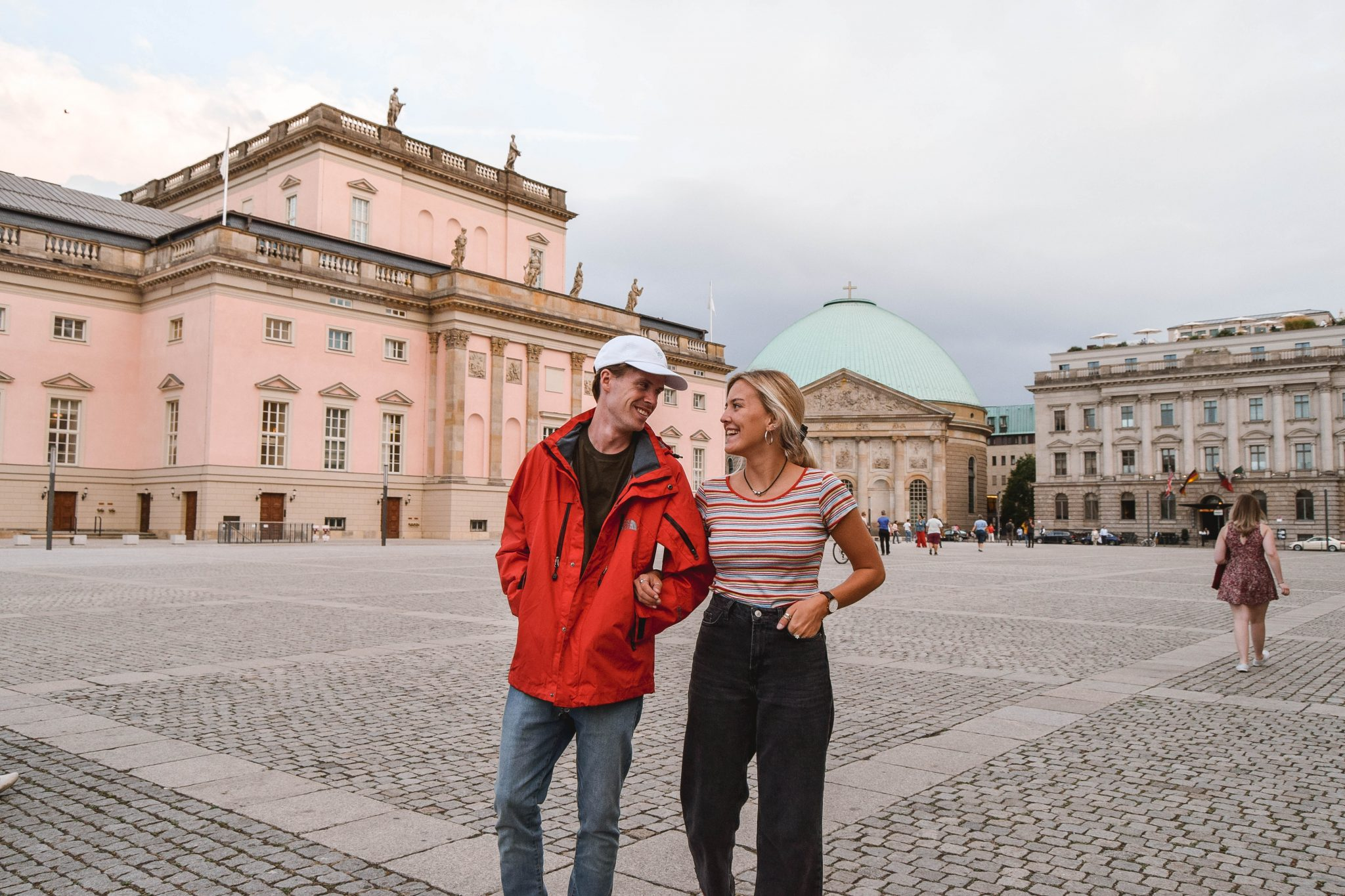 Wanderers & Warriors - Charlie & Lauren UK Travel Couple - Top Things To Do In Berlin Colonial Buildings Berlin