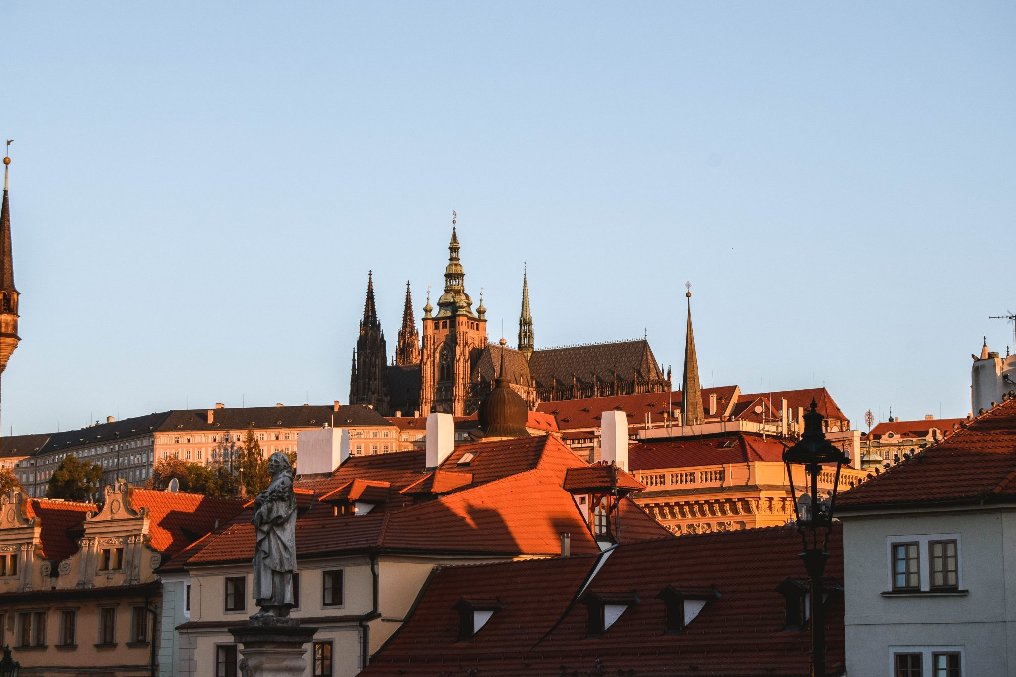 Wanderers & Warriors - Charlie & Lauren UK Travel Couple - Top 9 FUN Things To Do In Prague - What To See In Prague Castle