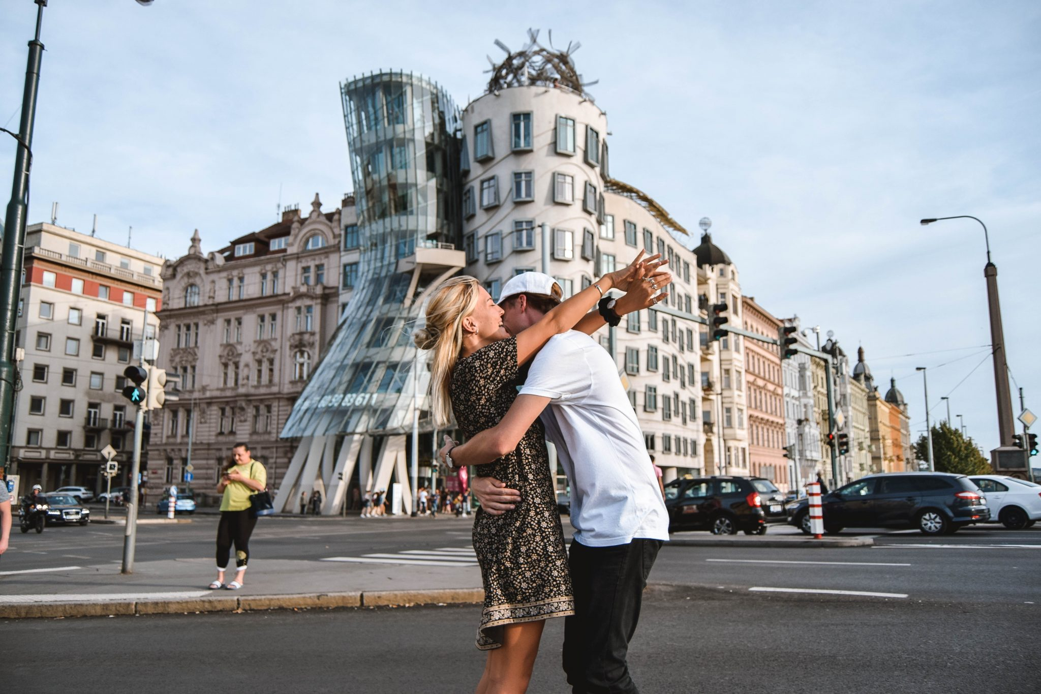 Wanderers & Warriors - Charlie & Lauren UK Travel Couple - Top 9 FUN Things To Do In Prague - What To See In Prague Dancing House