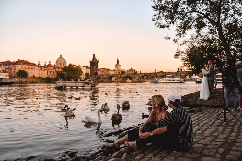 Charles Bridge Swans Prague FUN Things To Do In Prague What To See In Prague
