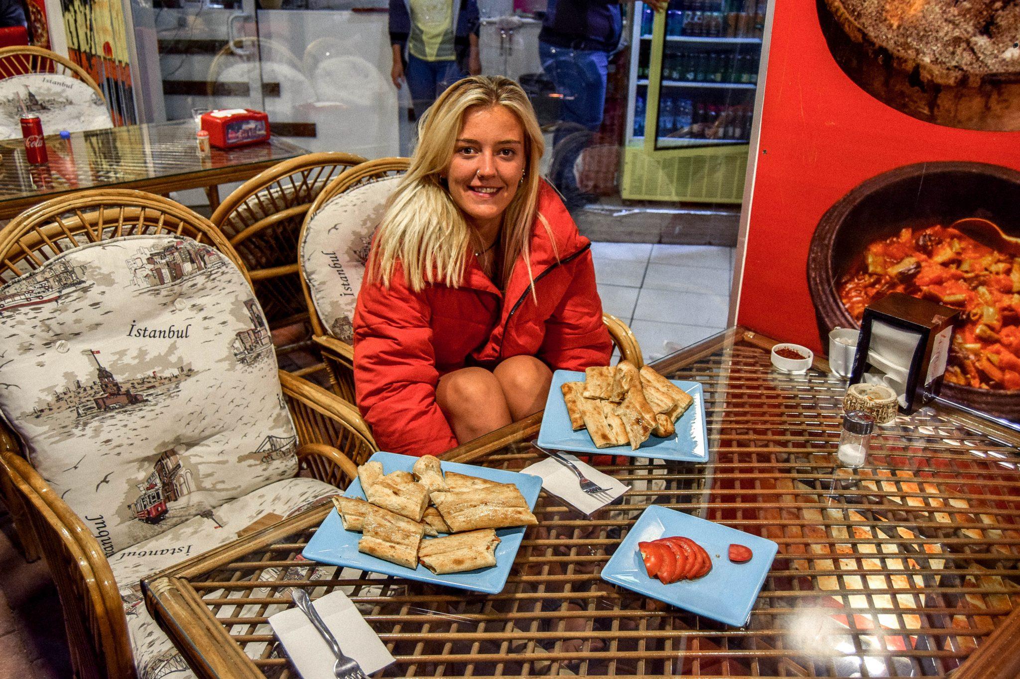 Wanderers & Warriors - Charlie & Lauren UK Travel Couple - Things To Do In Cappadocia Local Food Cappadocia