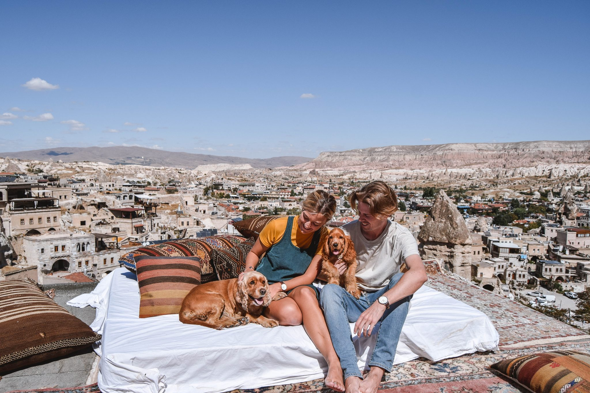 Wanderers & Warriors - Charlie & Lauren UK Travel Couple - Things To Do In Cappadocia Puppies