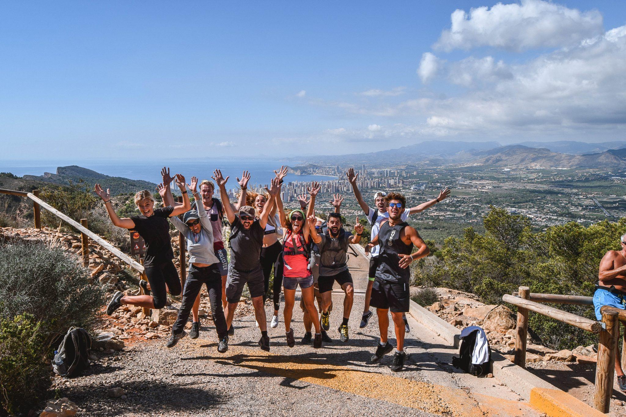 Wanderers & Warriors - Charlie & Lauren UK Travel Couple - Sierra Helada Natural ParkBenidorm to Albir