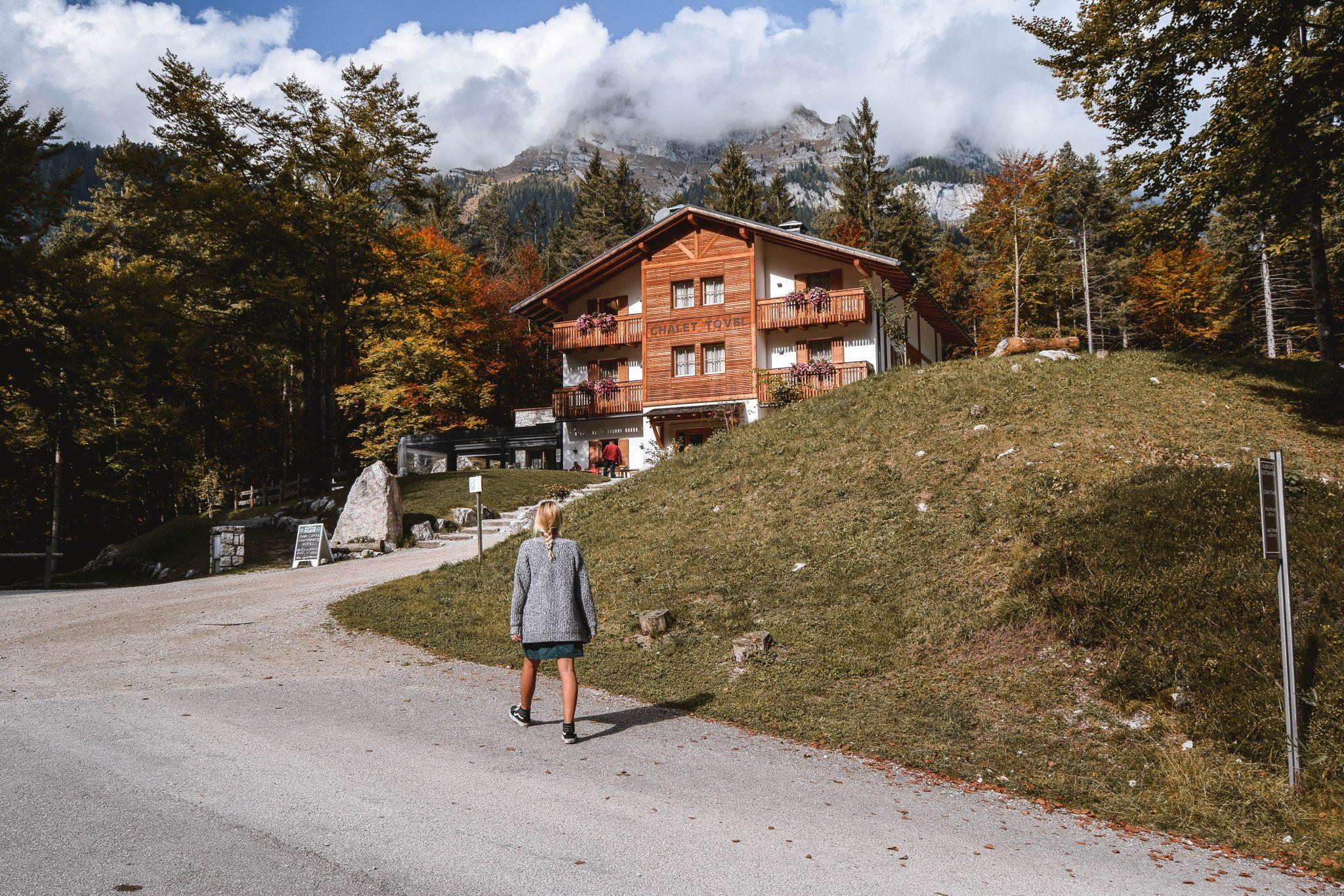 Wanderers & Warriors - Charlie & Lauren UK Travel Couple - Lago Di Tovel Trentino Lago Tovel Lake Tovel Chalet Tovel Lago Di Tovel Hotel