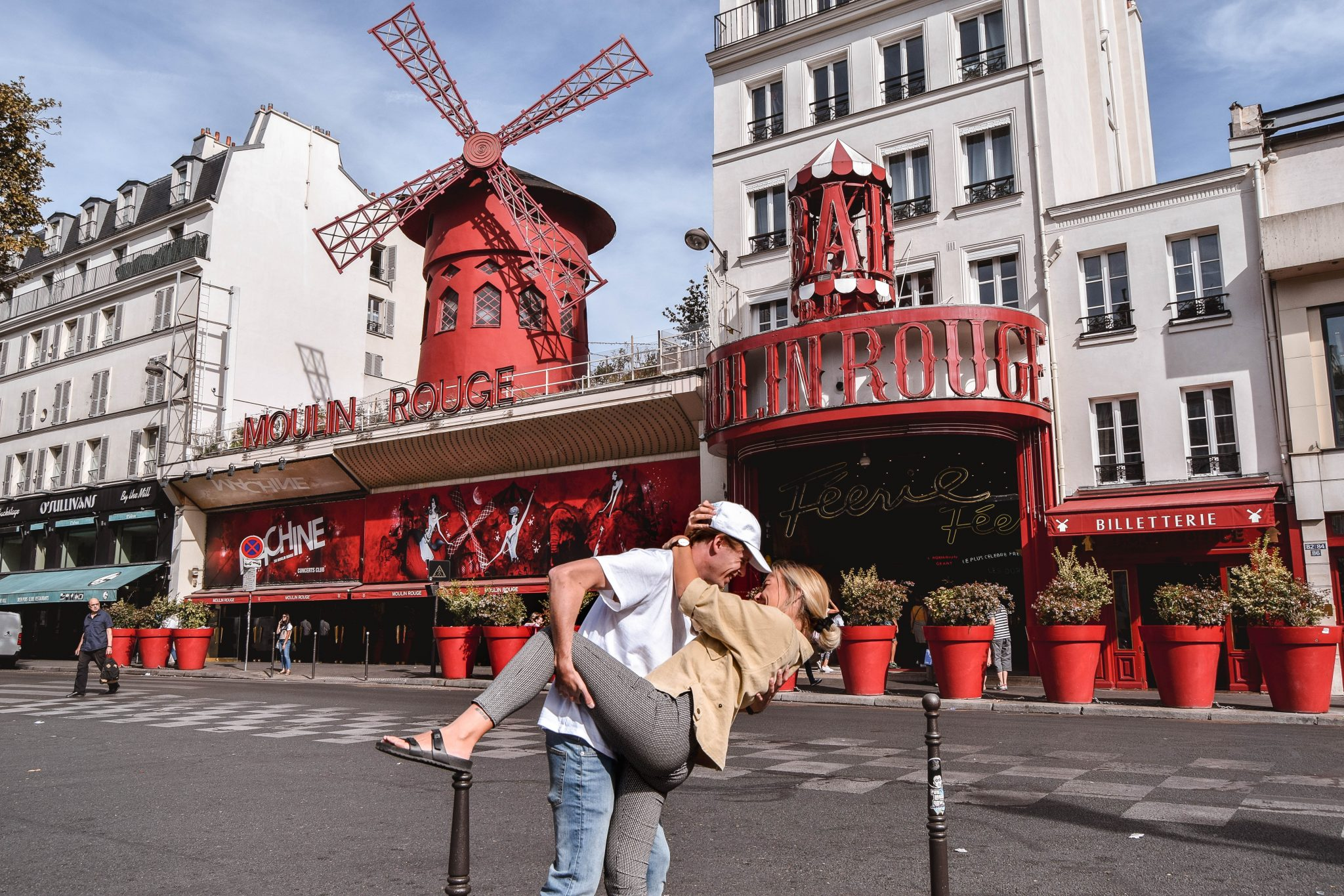 Wanderers & Warriors - Charlie & Lauren UK Travel Couple - Two Days In Paris Itinerary - Moulin Rouge Paris