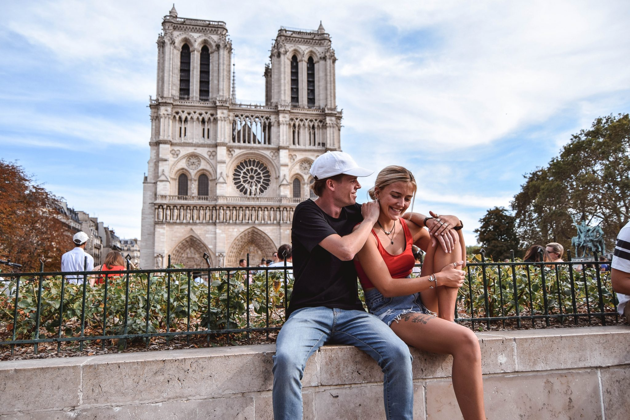 Wanderers & Warriors - Charlie & Lauren UK Travel Couple - Two Days In Paris Itinerary - Notre Dame Cathedral Paris