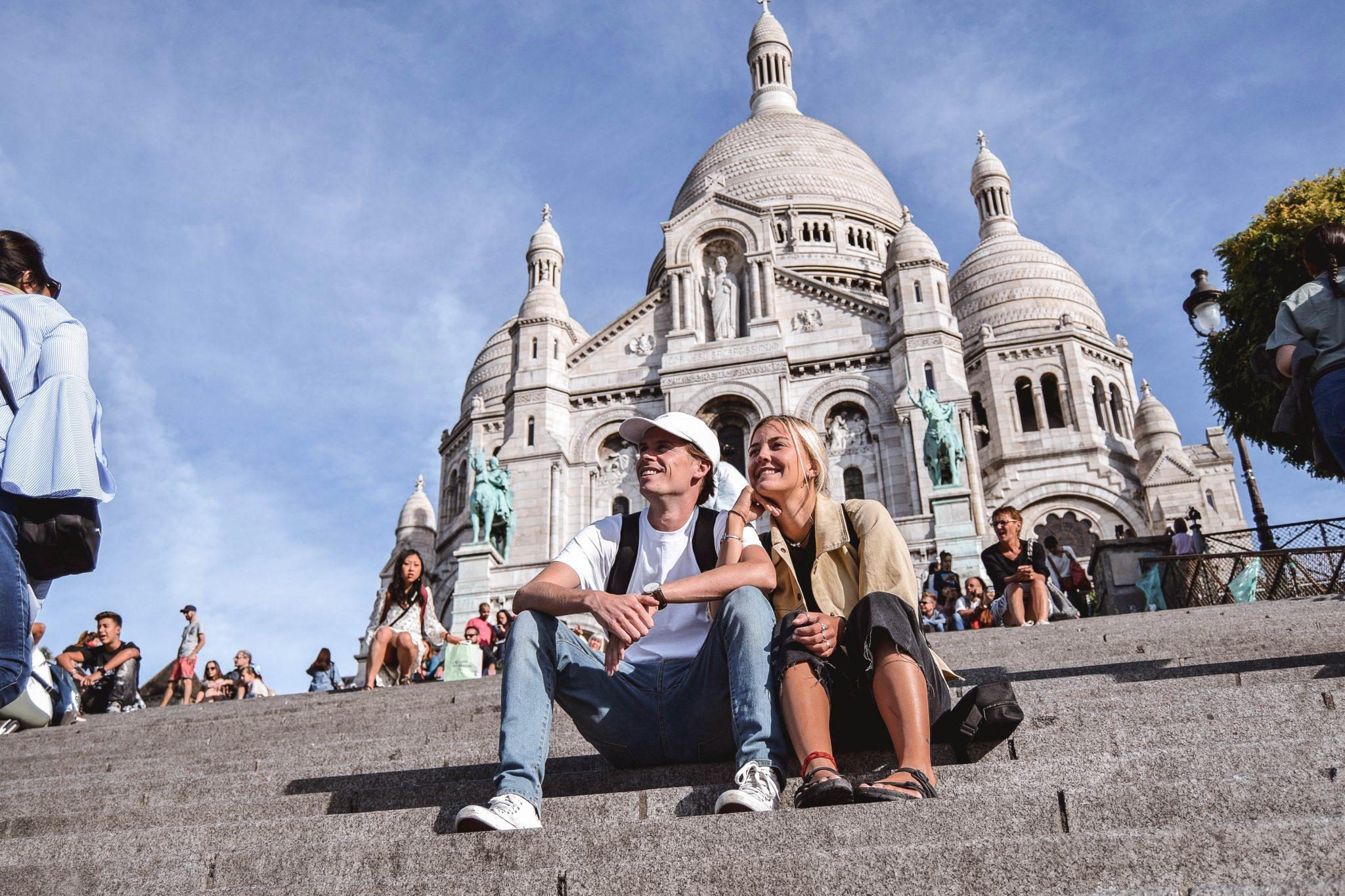 Wanderers & Warriors - Charlie & Lauren UK Travel Couple - Two Days In Paris Itinerary - Sacre-Coeur Paris