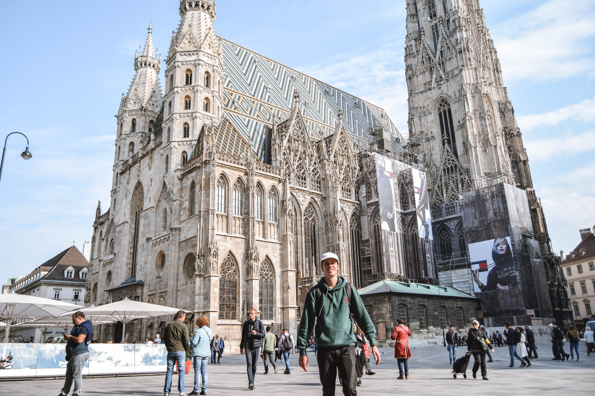 Wanderers & Warriors - Charlie & Lauren UK Travel Couple - St. Stephen's Cathedral Vienna In A Day - Things To Do In Vienna Itinerary 3 Days In Vienna 3 Day Itinerary Vienna 2 Day Itinerary