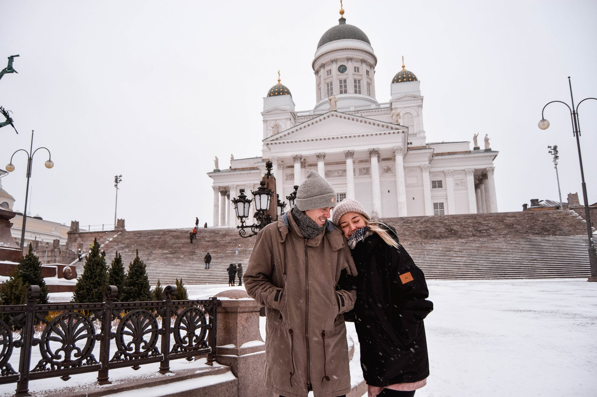 Things To Do In Helsinki In Winter - Senate Square Helsinki Cathedral