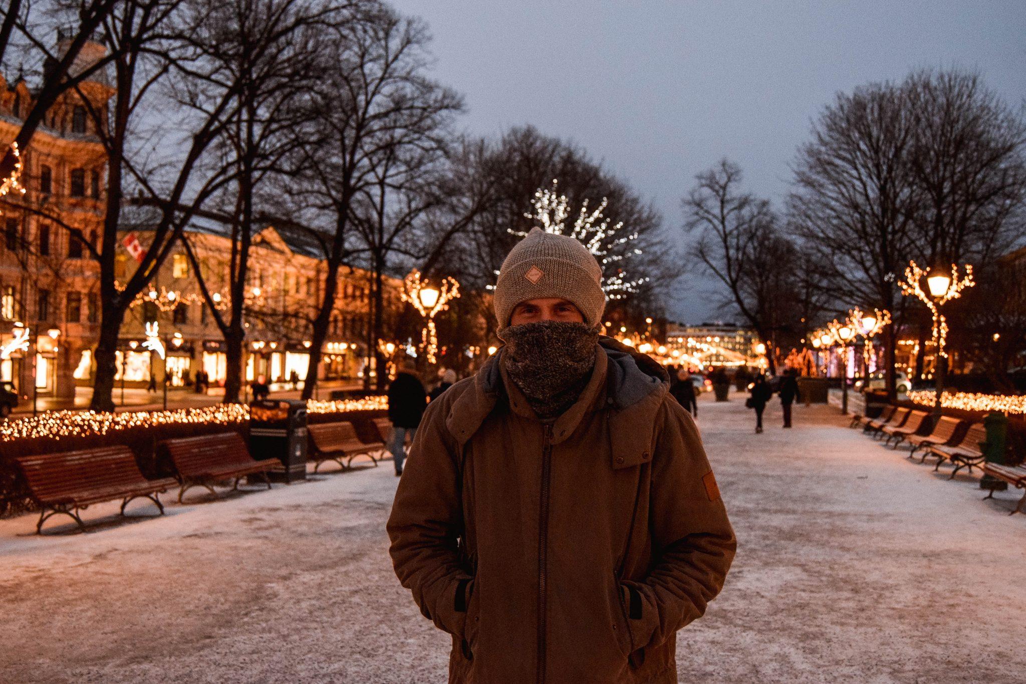 Things To Do In Helsinki In Winter - Esplanade Park Helsinki Esplanadi