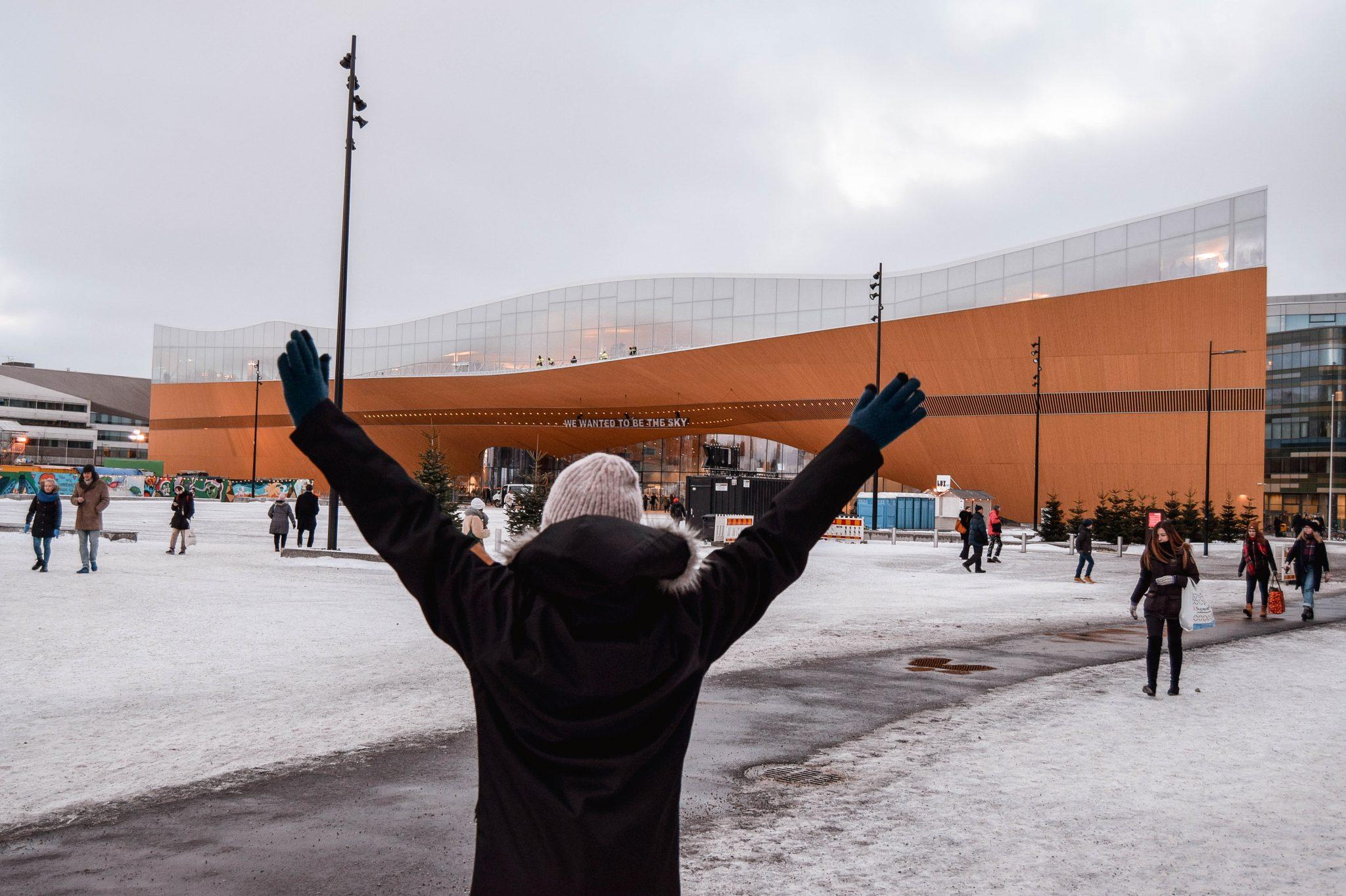 Things To Do In Helsinki In Winter - Helsinki Library Oodi