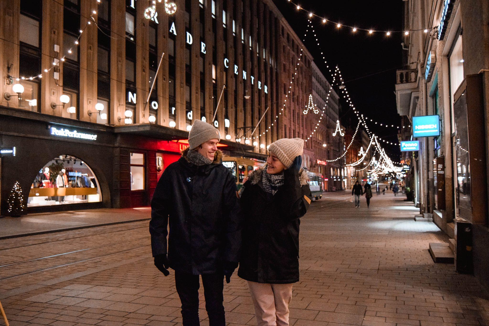 Things To Do In Helsinki In Winter - alexander street helsinki Christmas lights