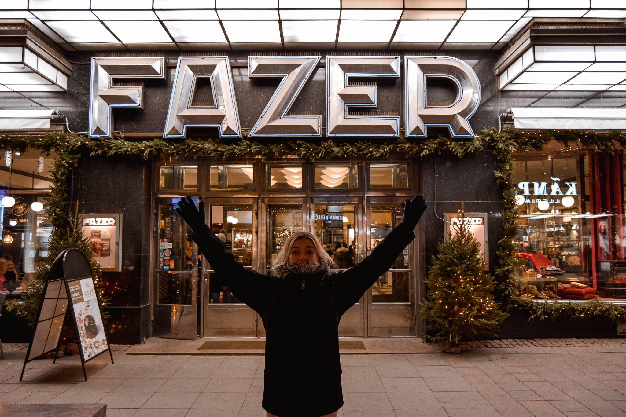 Things To Do In Helsinki In Winter - Fazer Cafe Helsinki Chocolate