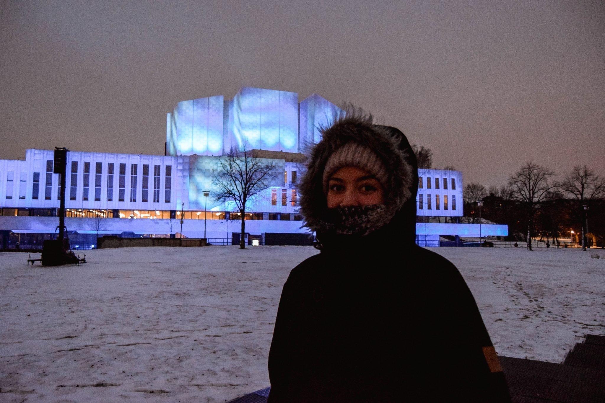 Things To Do In Helsinki In Winter - LUX Helsinki Finlandia Hall