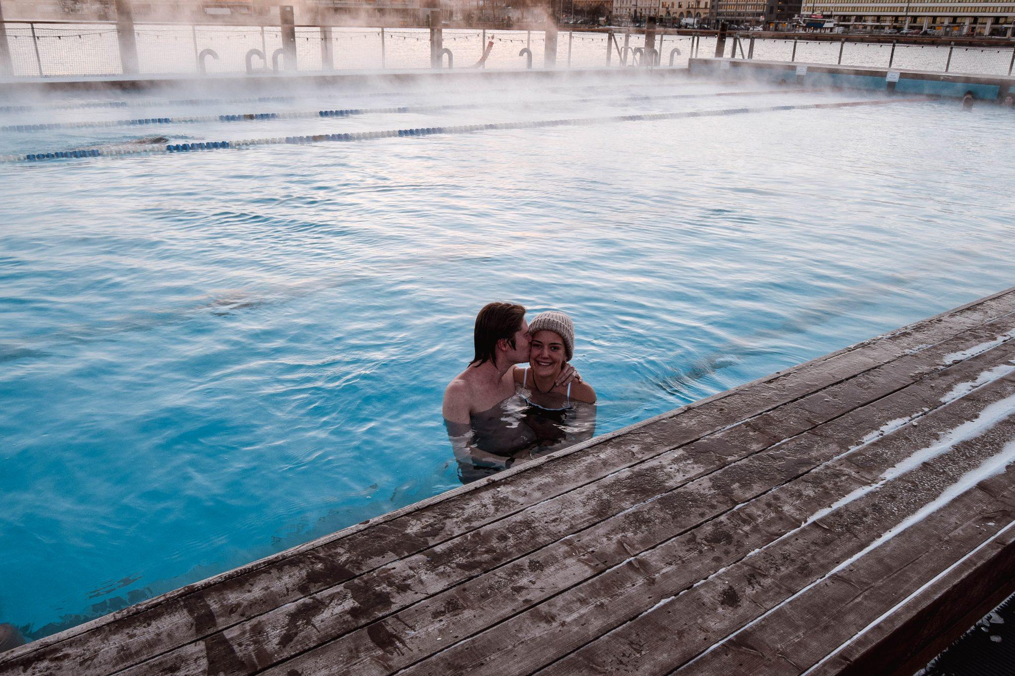 Things To Do In Helsinki In Winter - Allas Sea Pool Helsinki Sauna