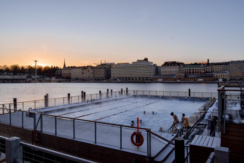 Allas Sea Pool Helsinki Swimming Pool Helsinki