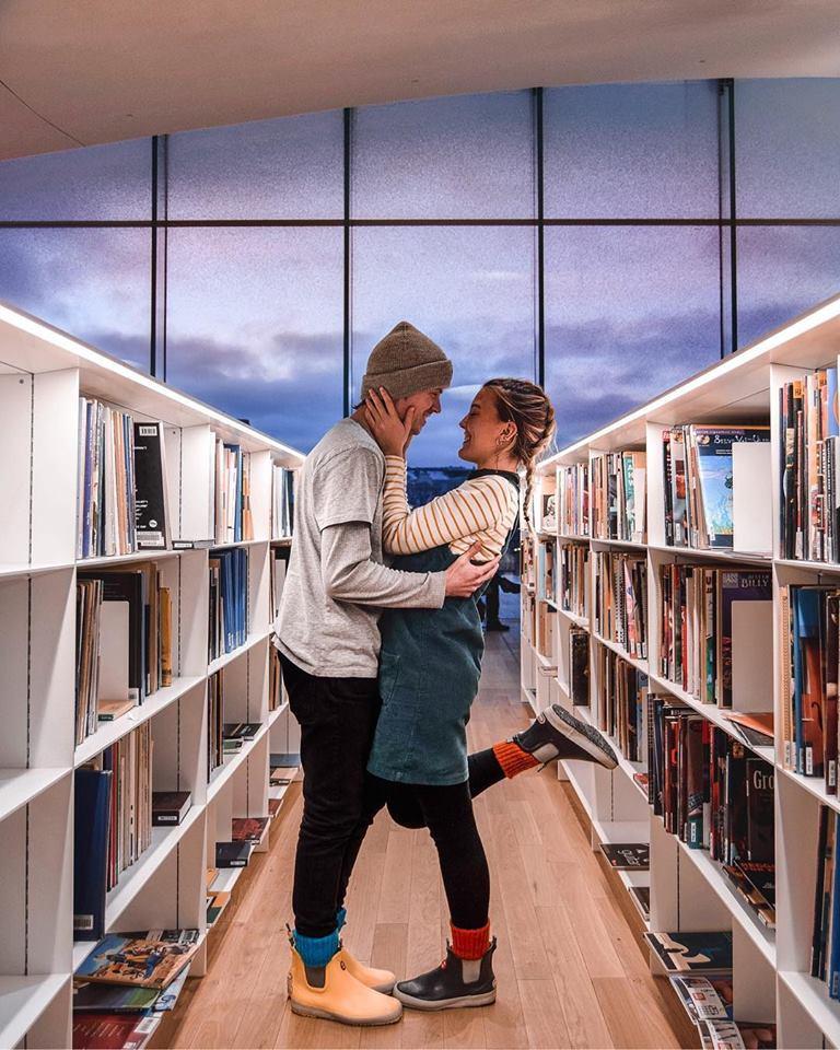 Instagrammable places in Helsinki Library Oodi Instagram