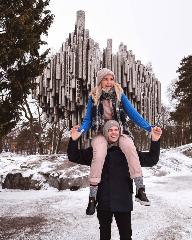 Instagrammable places in Helsinki Sibelius Monument Instagram