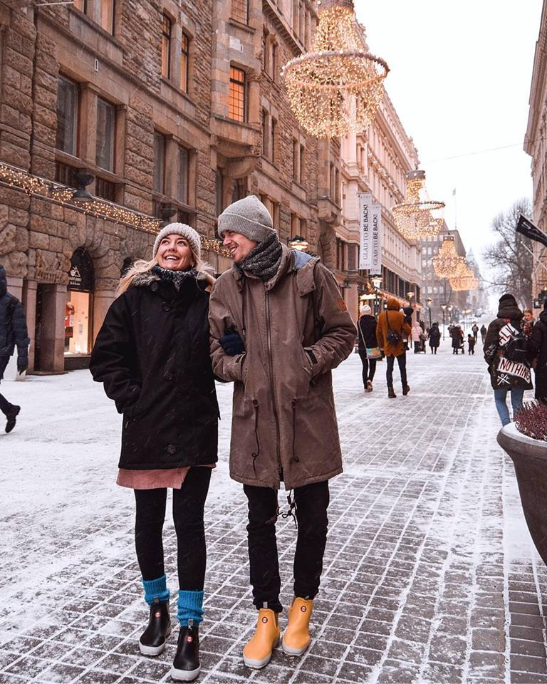 Instagrammable places in Helsinki City Streets Instagram
