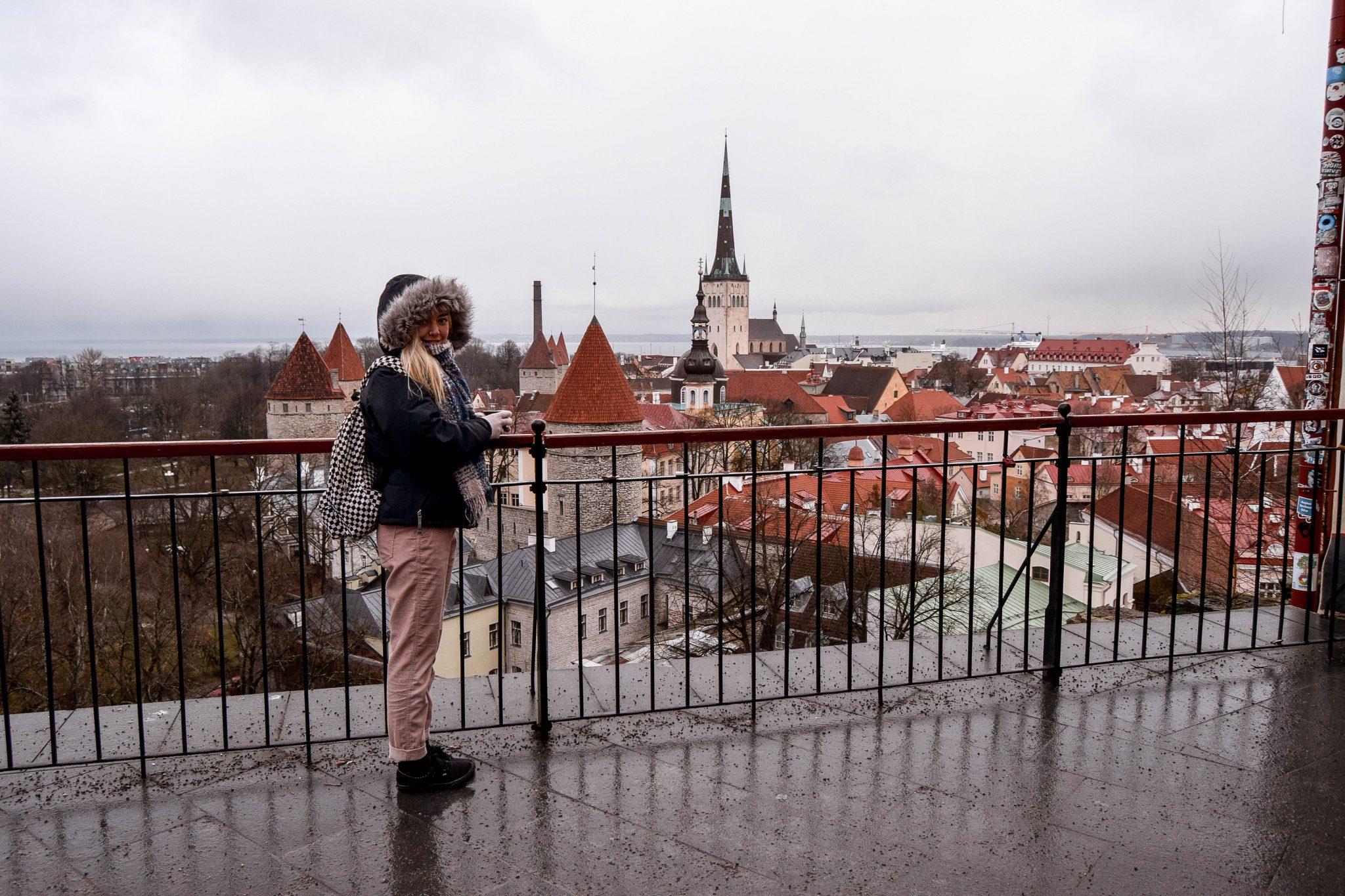 Tallinn Viewpoints In Tallinn - Patkuli Viewing Platform Tallinn Estonia