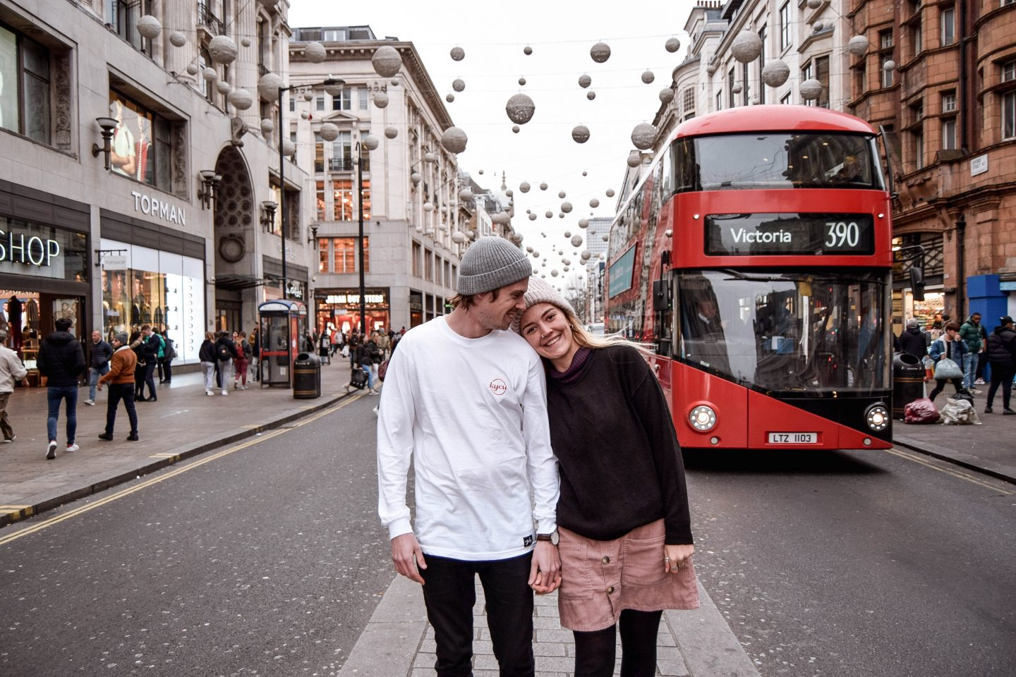 Oxford Street Red Bus London 4 Day London Itinerary