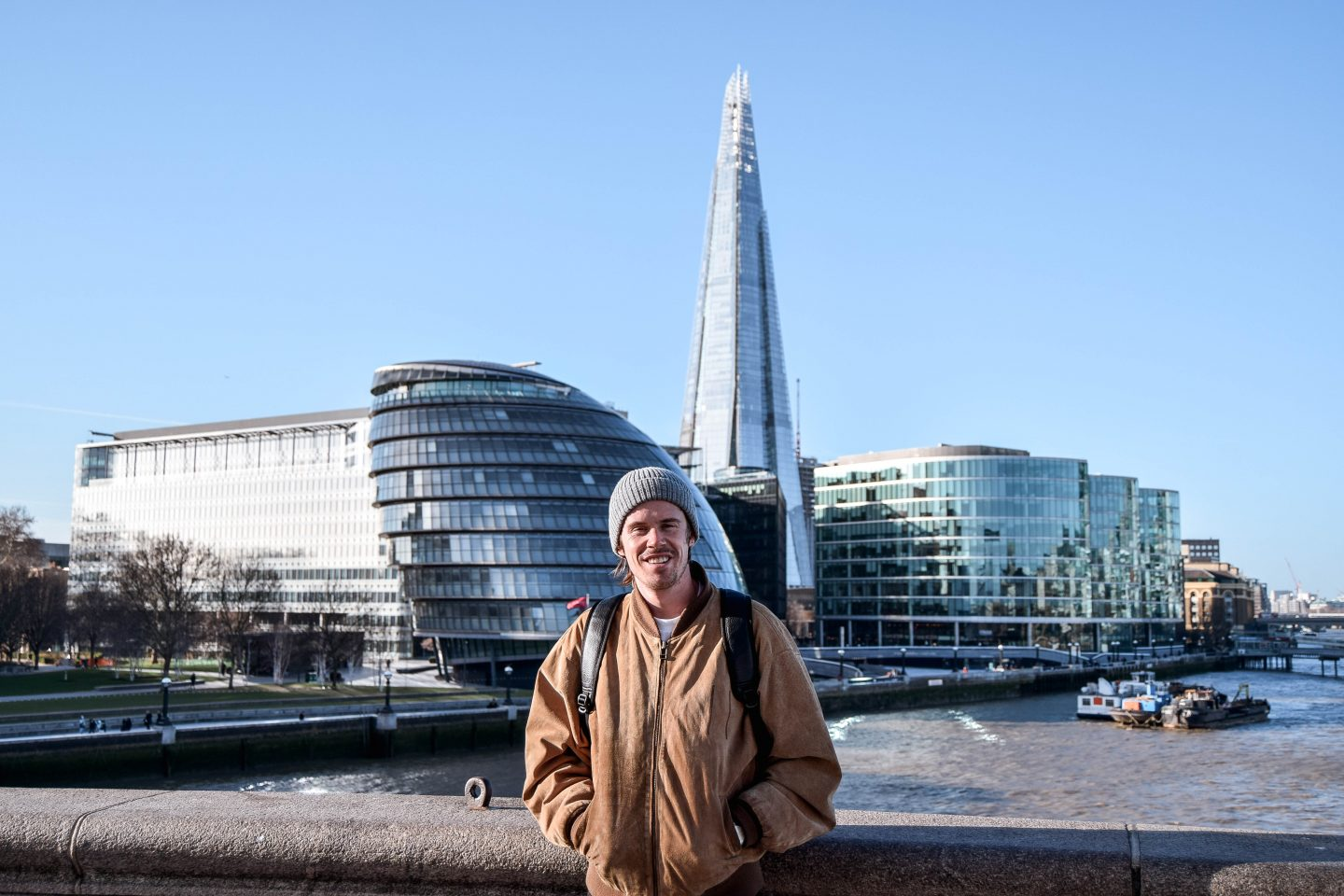 The Shard From Tower Bridge 4 Day London Itinerary