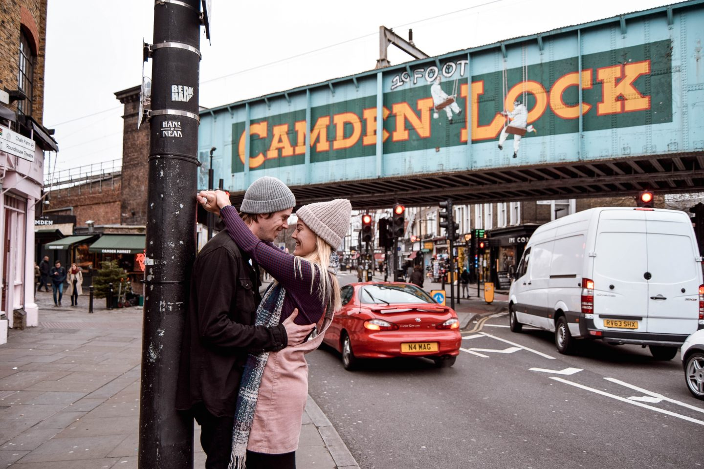 Camden Lock Sign 4 Day London Itinerary