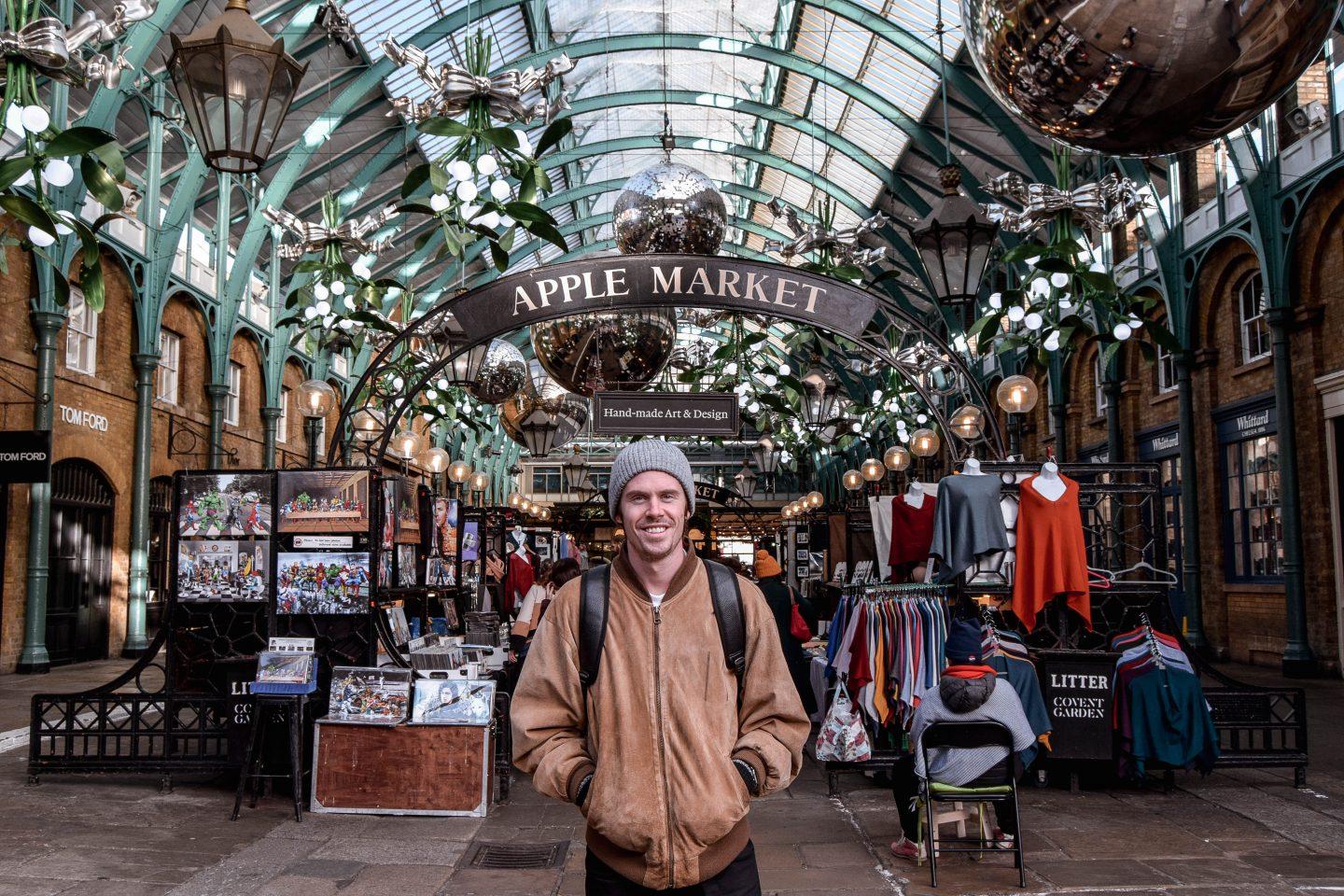 Covent Garden Apple Market 4 Day London Itinerary
