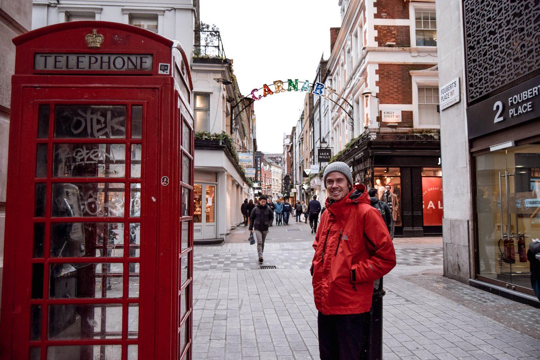 Carnaby Street London Bucket List