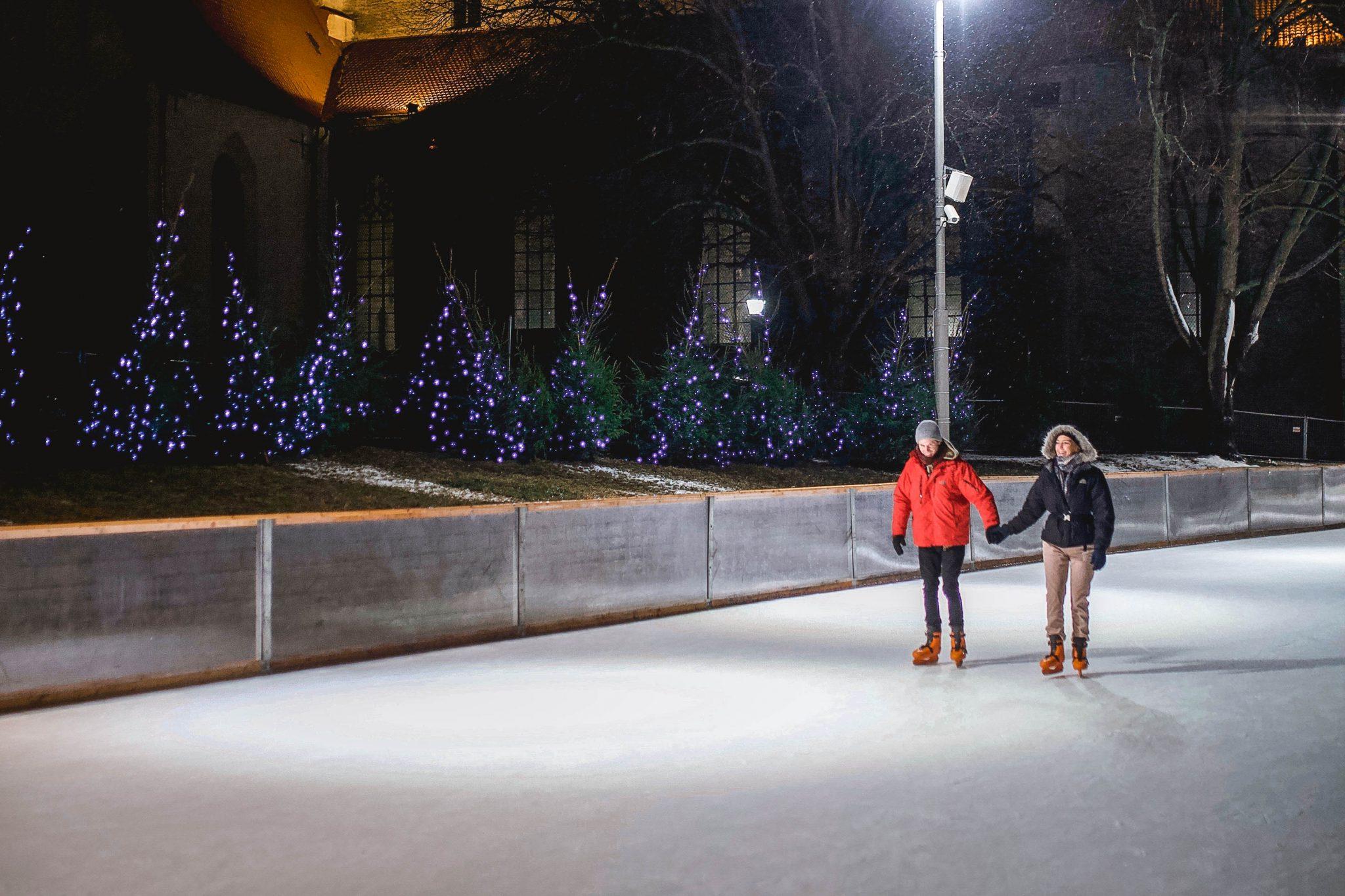 Things To Do In Tallinn In Winter Tallinn Things To Do - Ice Skating Tallinn Estonia