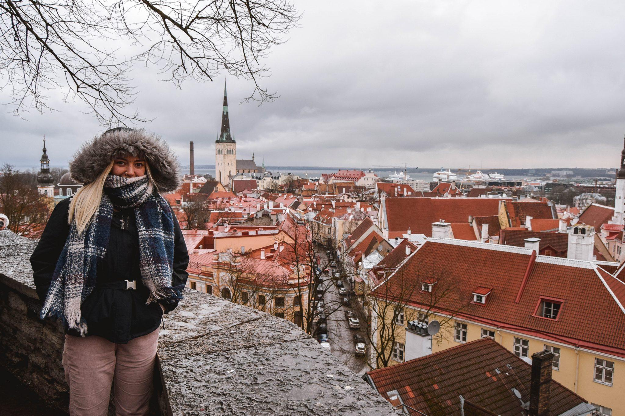 Things To Do In Tallinn In Winter Tallinn Things To Do - Kohtuotsa Viewing Platform Tallinn Estonia