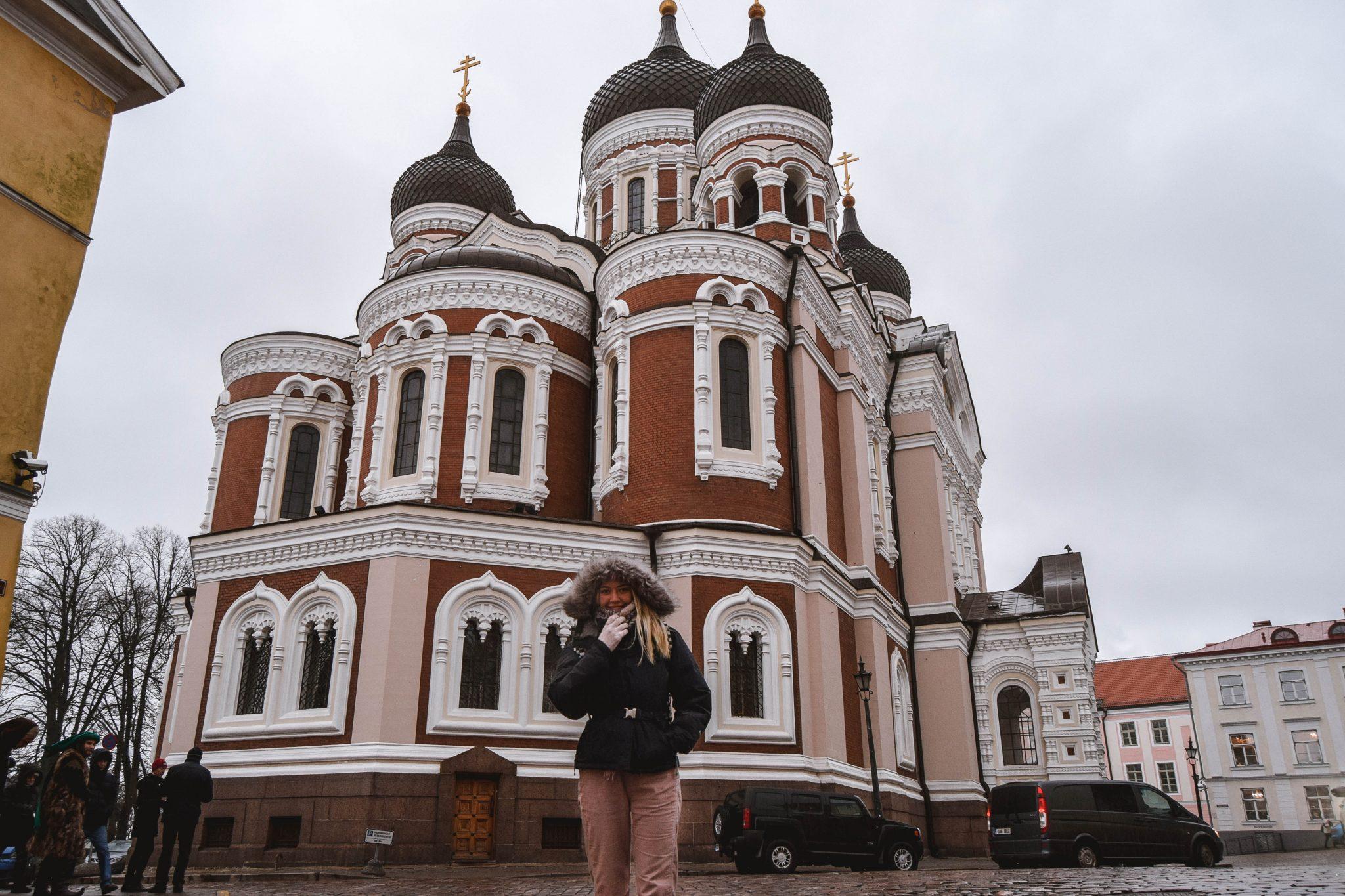 Things To Do In Tallinn In Winter Tallinn Things To Do - Alexandrer Nevsky Cathedral Tallinn Estonia