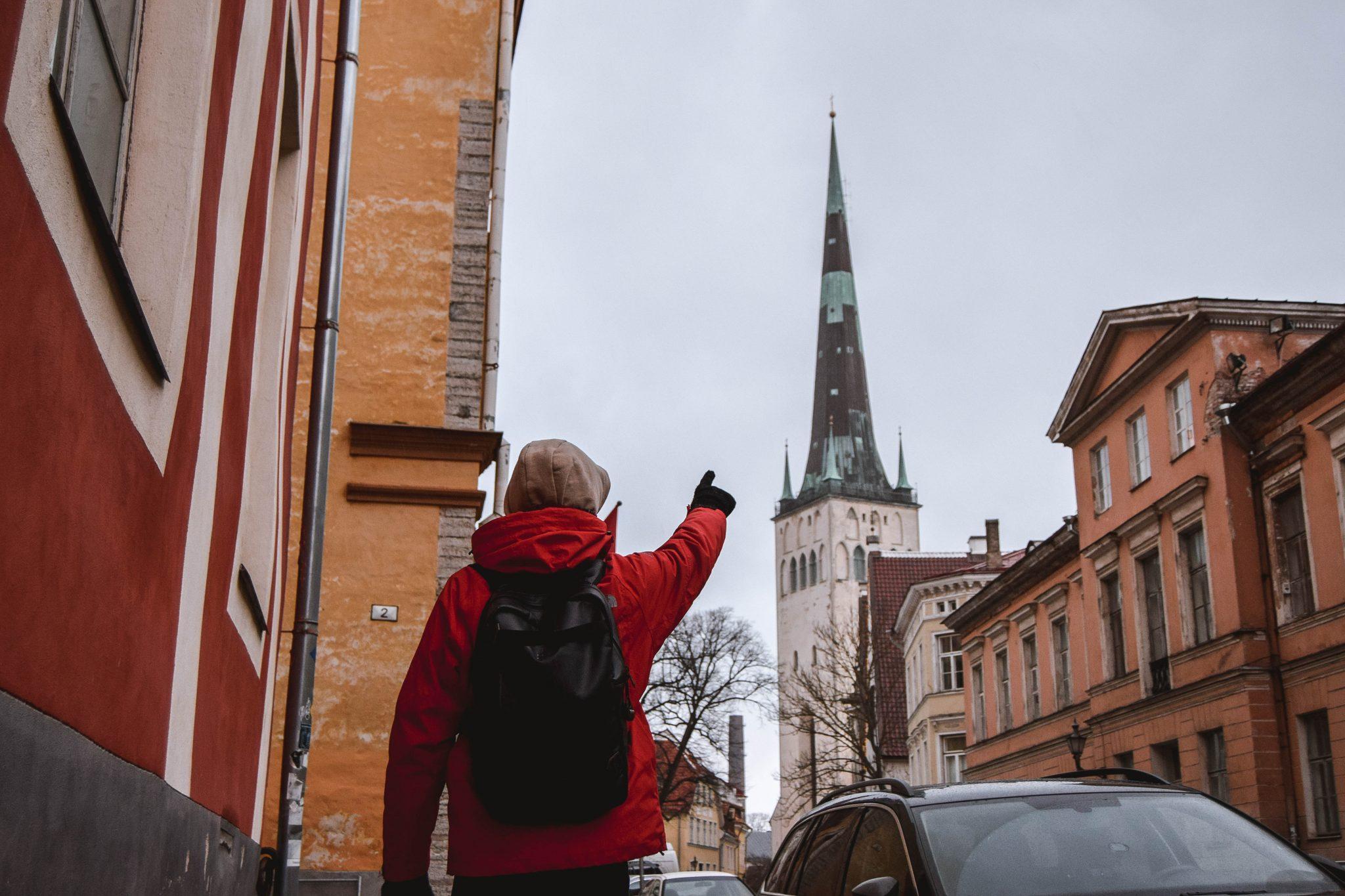 Things To Do In Tallinn In Winter Tallinn Things To Do - St Olaf's Church Tallinn Estonia