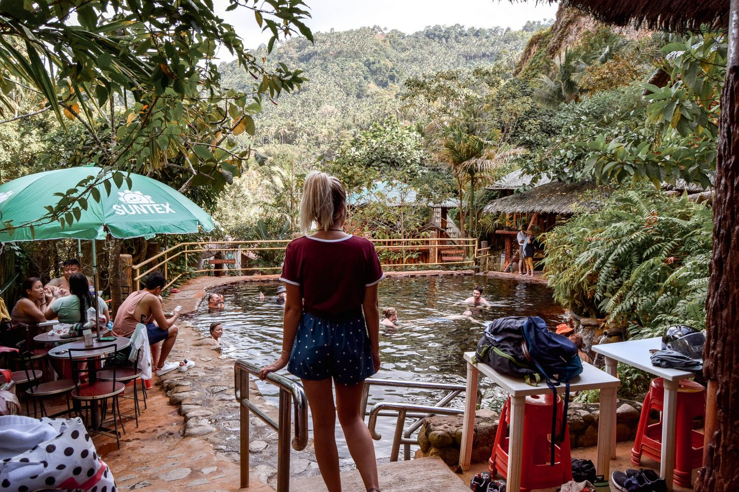 Red Rock Hot Spring Valencia Red Rock Hot Spring Dumaguete Things To Do In Dumaguete