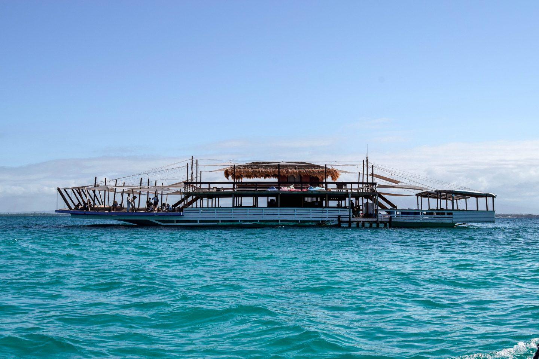 Tawhai Floating Bar Lakawon Floating Bar Lakawon Island Bacolod