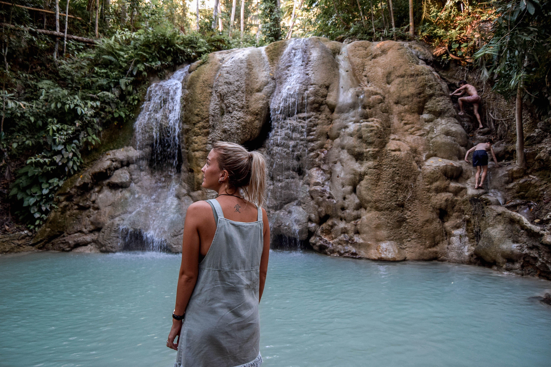 Siquijor itinerary siquijor tour Lugnason Falls Siquijor Waterfalls Philippines Waterfalls