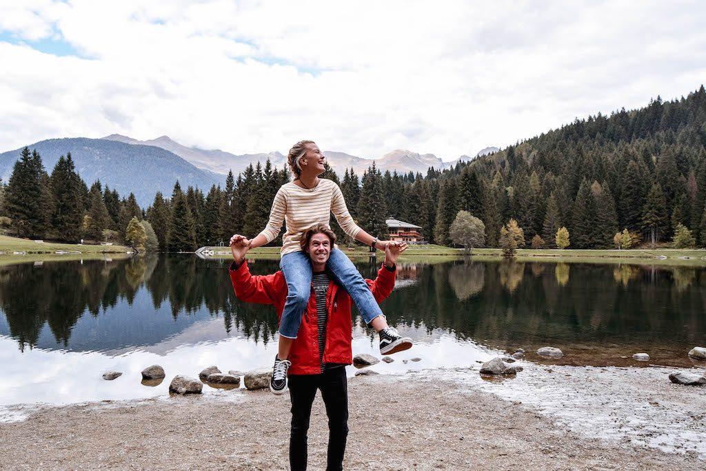 Lago Dei Caprioli Val Di Sole Lago Dei Caprioli Trentino