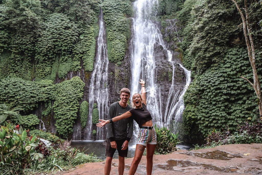 Banyumala Twin Waterfalls Munduk Twin Falls Bali