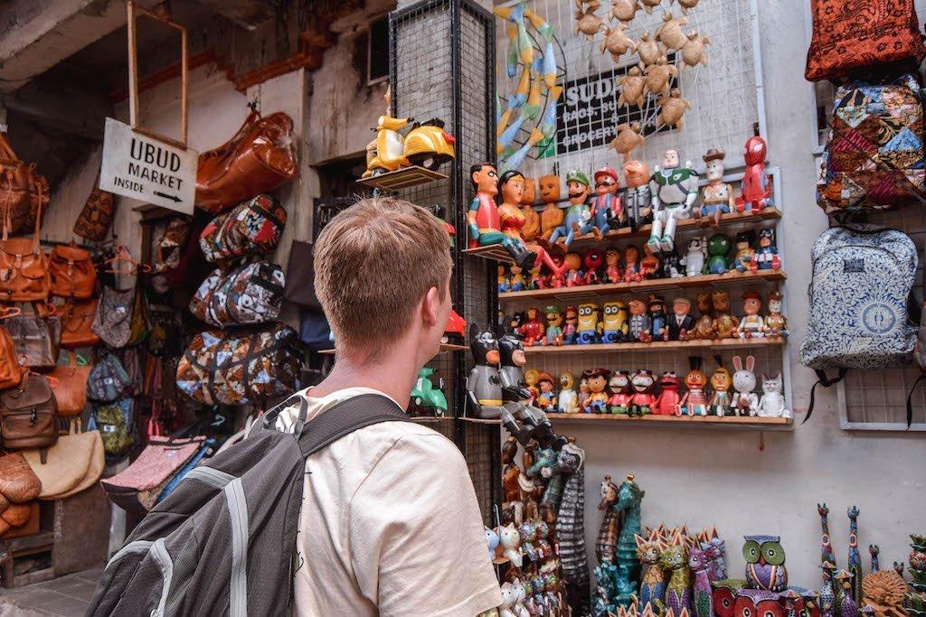 Ubud Art Market Bali Markets In Bali