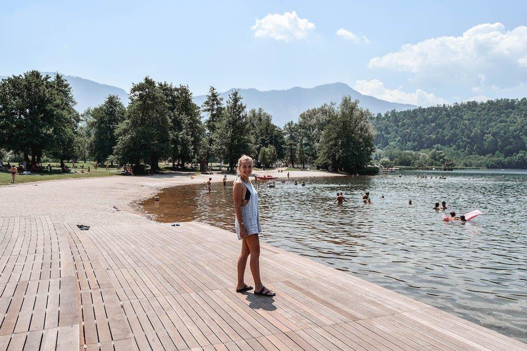 Lago Di Levico Lake Levico