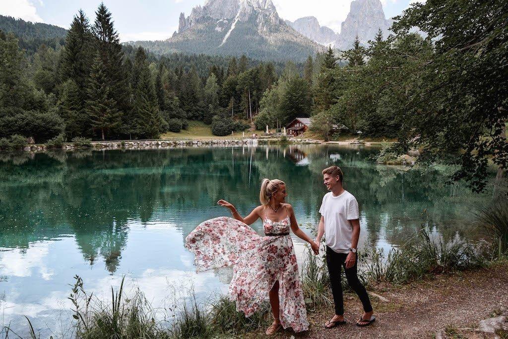Lago Welsperg Lake Welsperg Lakes In Trentino Lakes
