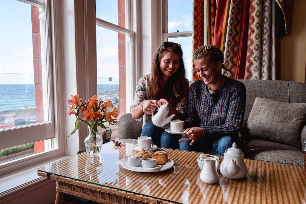 Cream Tea Headland Hotel Newquay Things To Do In Newquay