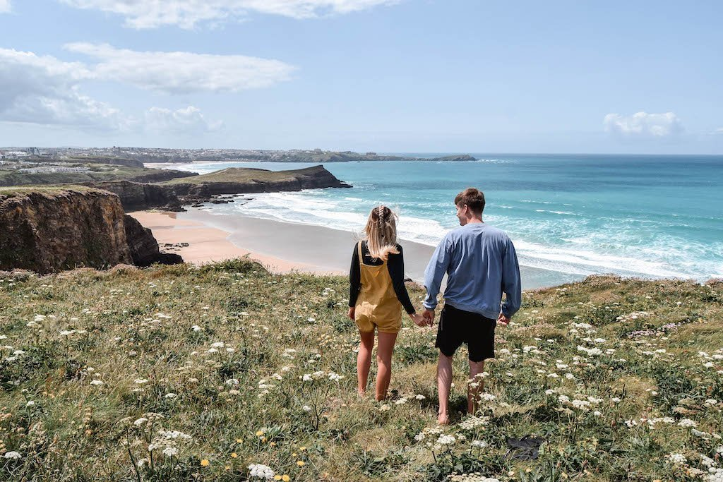 South West Coast Path Newquay Things To Do In Newquay Cornwall