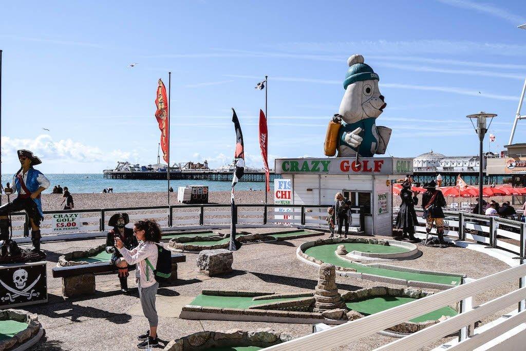 Crazy Golf Brighton Fun Things To Do In Brighton