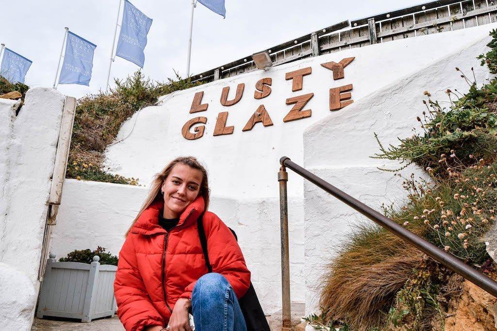 Lusty Glaze Beach Newquay