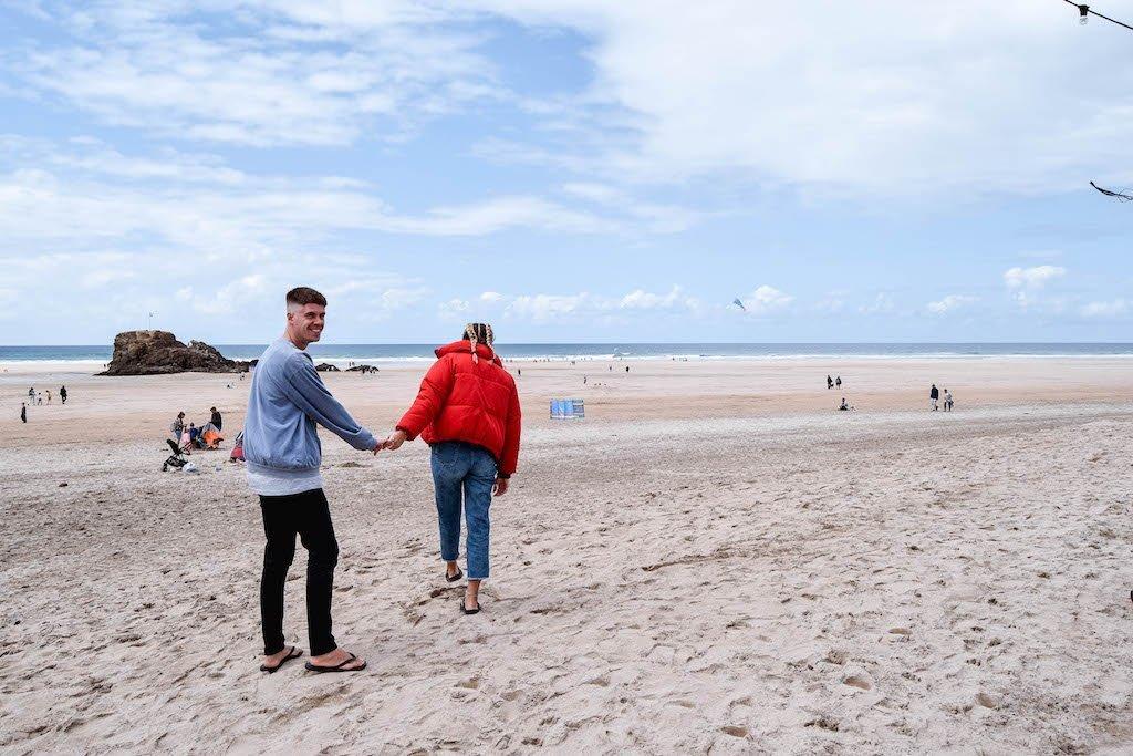 Perranporth Beach Cornwall Beaches
